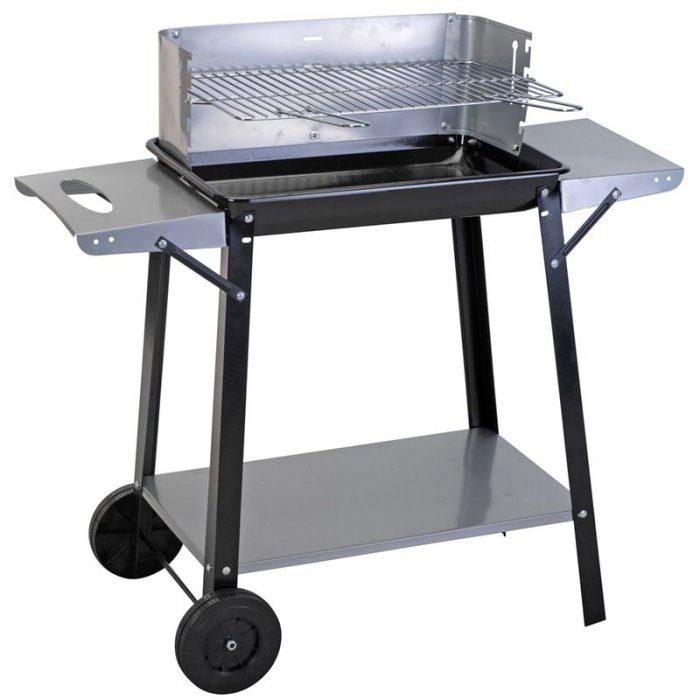 Barbecue rechthoekig 49x32 cm