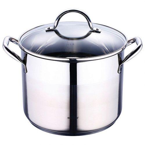 Bergner RVS kookpan met deksel (8