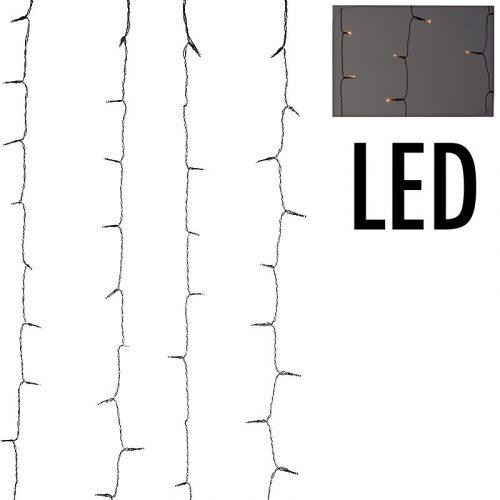 Gordijnverlichting - 480LED - 225x300cm - warm wit