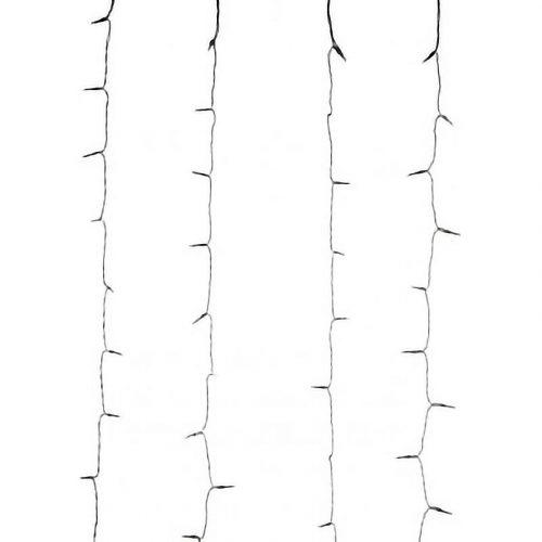 Gordijnverlichting - 480LED - 225x300cm - wit