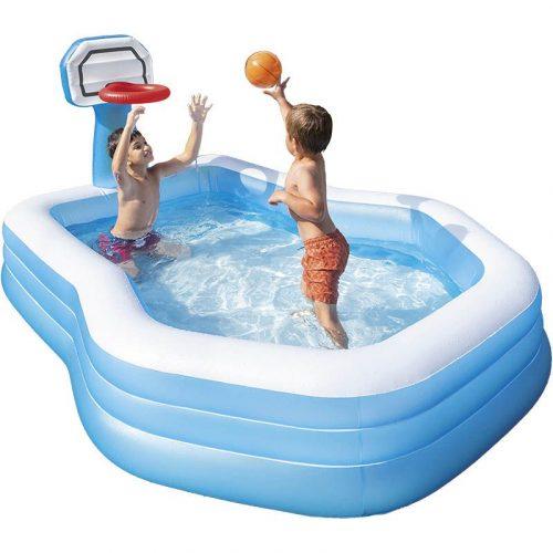 Intex Zwembad met basketbalring