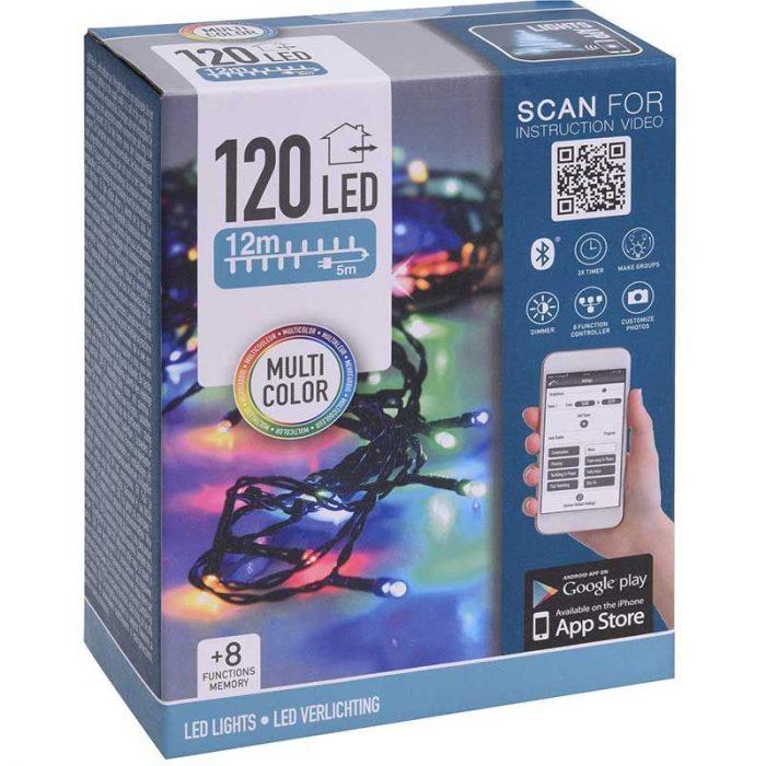 LED-verlichting met App bediening - 120 LED's - 12 meter - multicolor