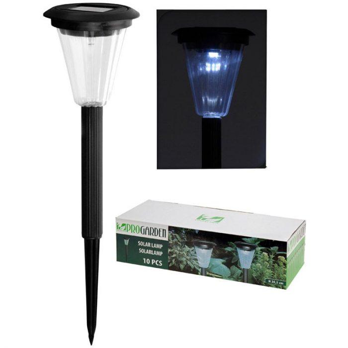 Set van 10 Solar LED-lampen