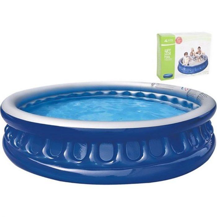 Soft Pool - 175x35cm - donkerblauw