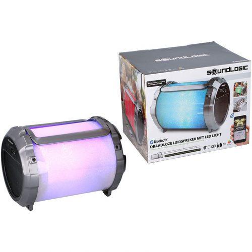 Speaker XL met subwoofer en led-verlichting