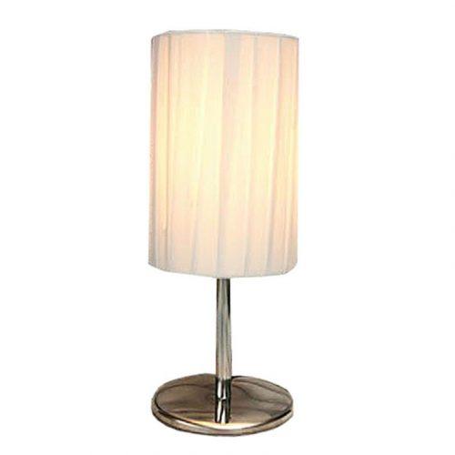 Tafellamp met ronde kap