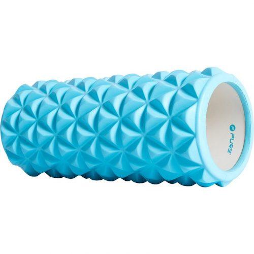 Yoga roller - 33x14cm - blauw