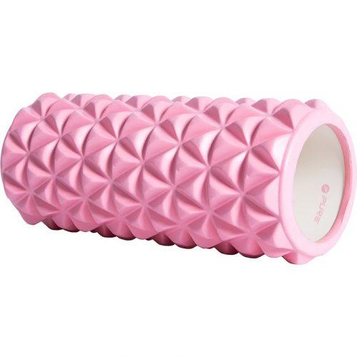 Yoga roller - 33x14cm - roze