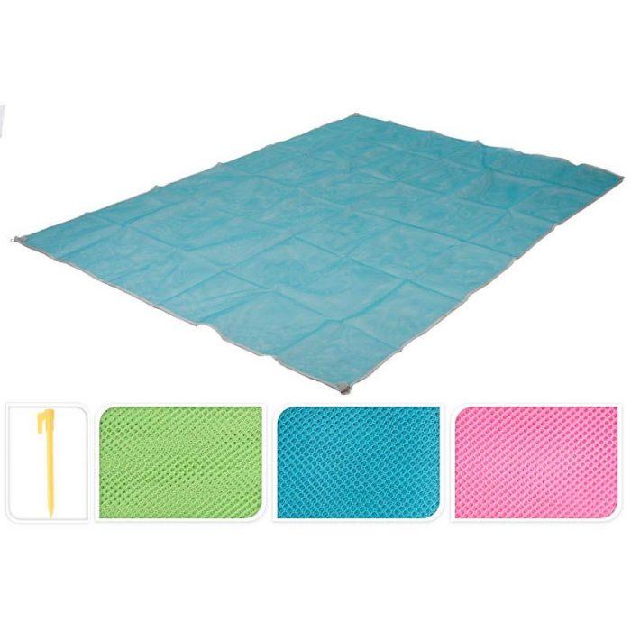Zandvrije Strandmat - blauw
