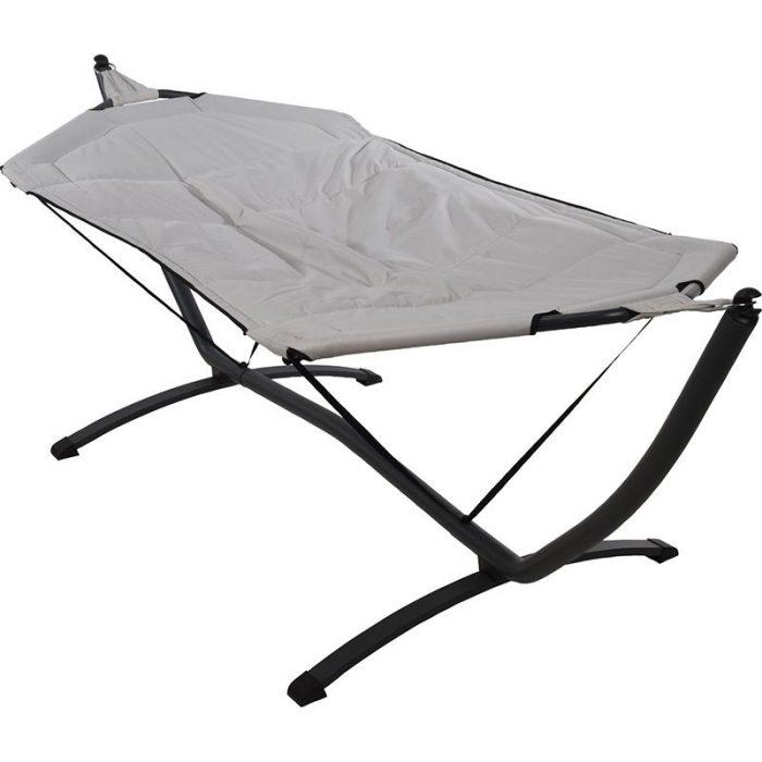 Hangmat met standaard - 260 x 98 x 90 cm