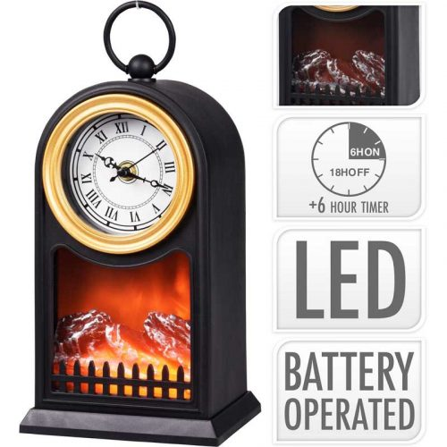 Sfeerlantaarn LED - met klok