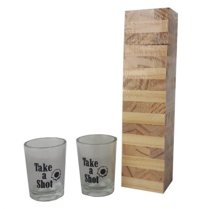 Tipsy Tower - Drinkspel - Mini Dranktoren
