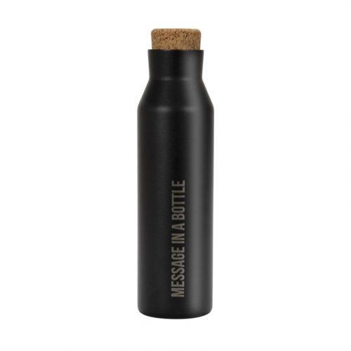 Duett Thermosfles - RVS - 500 ml - zwart