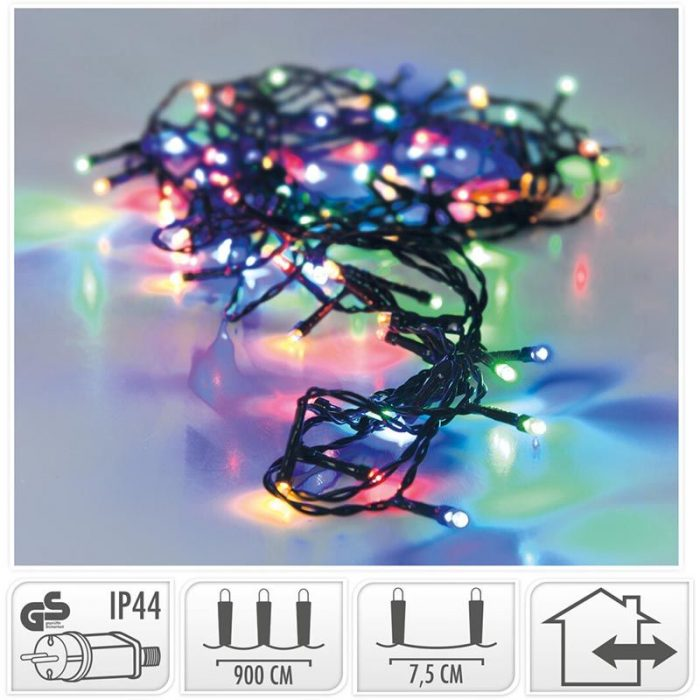 LED-verlichting - 120 LED's - 9 meter - multicolor