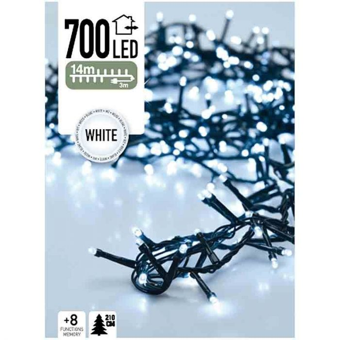 Micro Cluster - 700 LED - 14 meter - wit