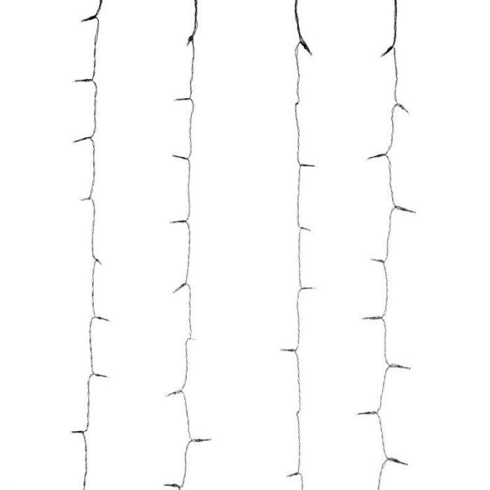 Gordijnverlichting - 240LED -  200x150cm - wit
