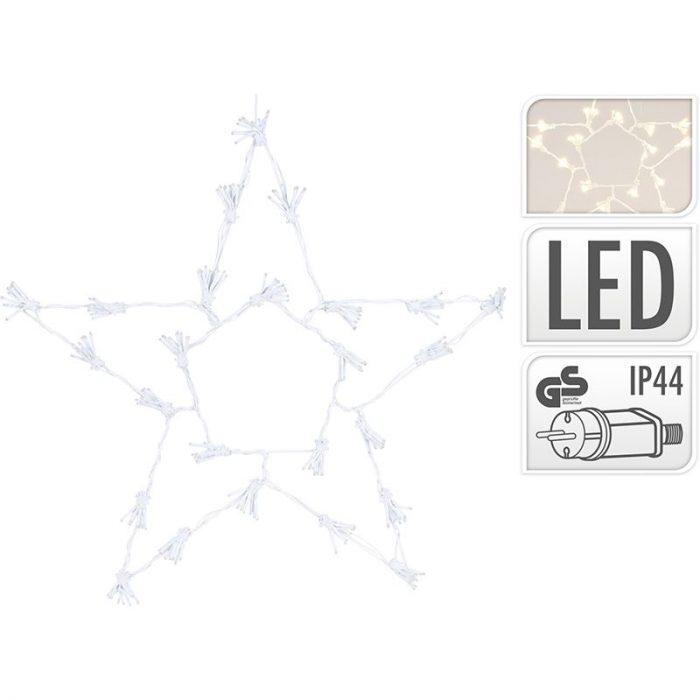 Kerstster 250 LED - 60cm - Warm Wit
