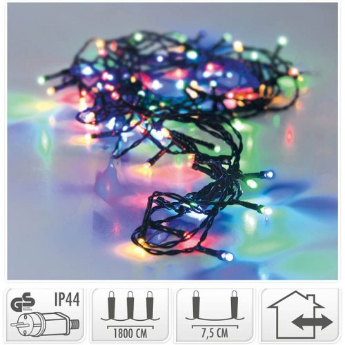 LED-verlichting - 240 LED - 18 meter - multicolor