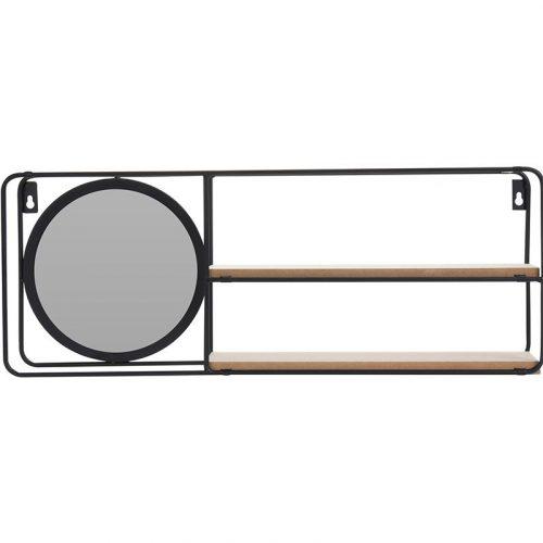 Wandrek met Spiegel - 2 planken