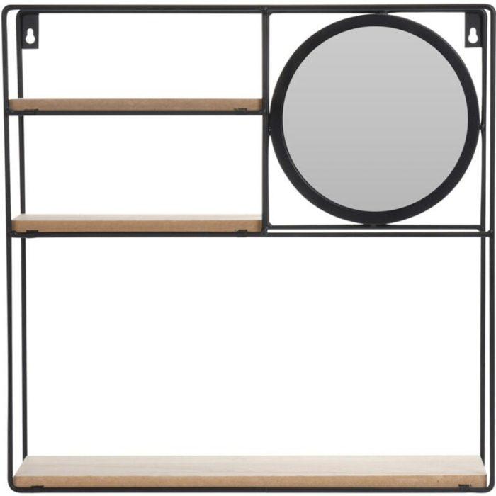 Wandrek met Spiegel - 3 planken
